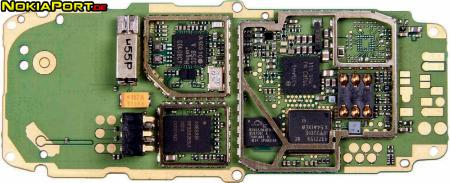 nokiatuningnet PCB layout of Nokia 1110