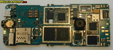 nokiatuningnet PCB layout of Nokia 6300