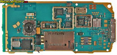 nokiatuningnet PCB layout of Nokia N72