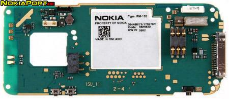 nokiatuningnet PCB layout of Nokia N73